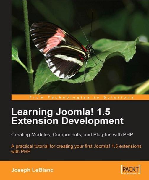 Learning Joomla! 1.5 Extension Development