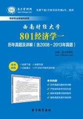 西南财经大学801经济学一历年真题及详解(含2008~2013年真题)