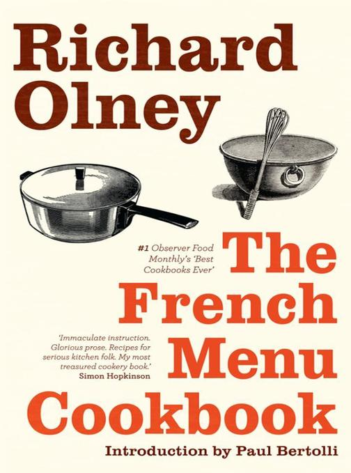 The French Menu Cookbook: The Food and Wine of France - Season by Delicious Seas