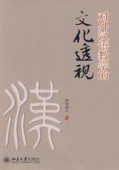 对外汉语教学的文化透视