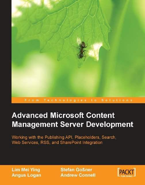 Advanced Microsoft Content Management Server Development