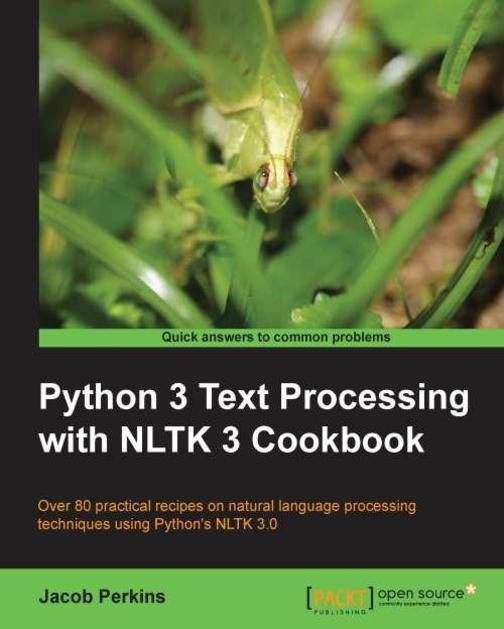 Python Text Processing with NLTK 2.0 Cookbook Update