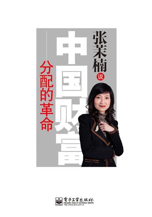 张茉楠说:中国财富分配的革命