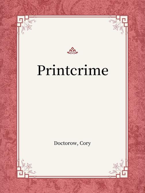 Printcrime