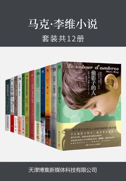 马克·李维小说(套装共12册)