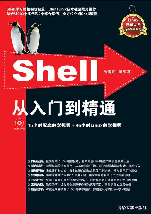 Shell从入门到精通(光盘内容另行下载,地址见书封底)