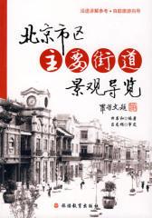 北京市区主要街道景观导览(仅适用PC阅读)