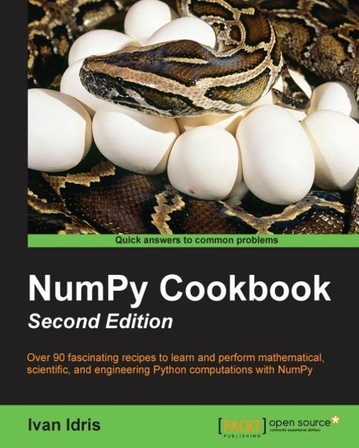NumPy Cookbook - Second Edition