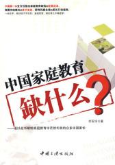 中国家庭教育缺什么(试读本)