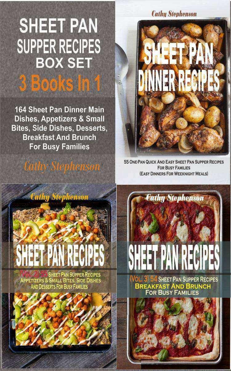 Sheet Pan Supper Recipes Box Set