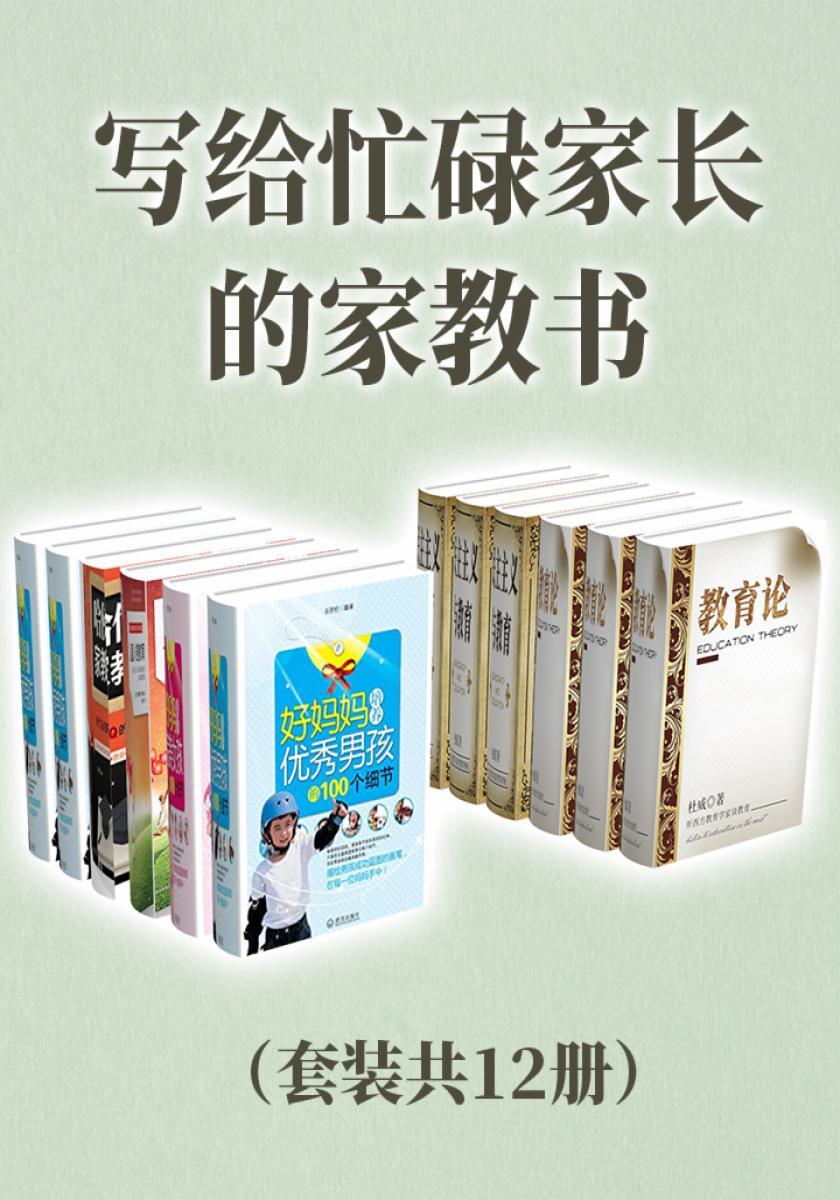 写给忙碌家长的家教书(套装共12册)