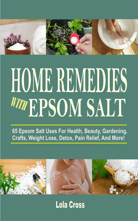 Home Remedies With Epsom Salt