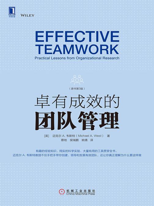 卓有成效的团队管理(原书第3版)