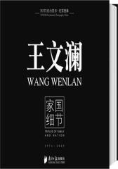 王文澜:家国细节(试读本)