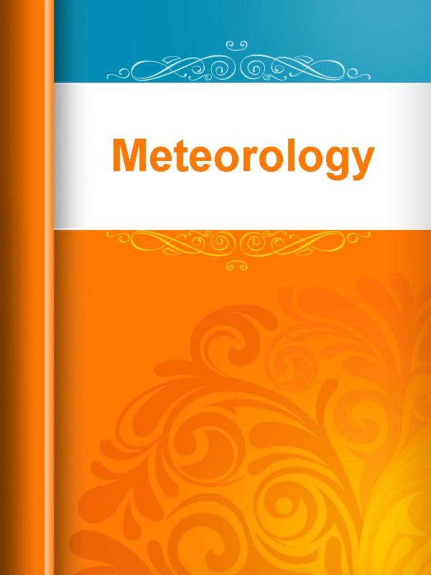 Meteorology