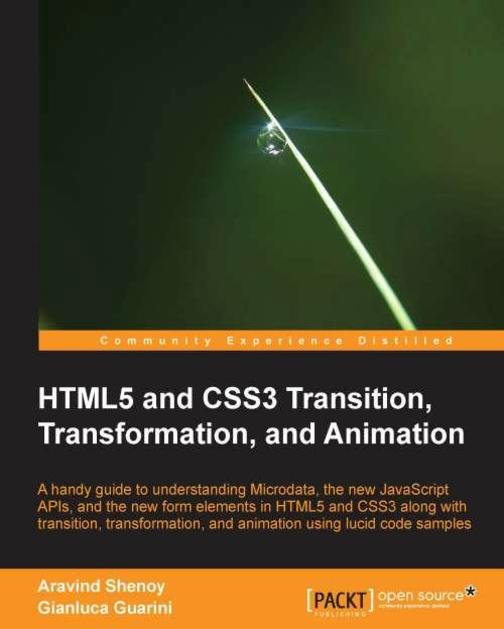 HTML5 and CSS3 Transition, Transformation and Animation
