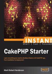 Instant CakePHP Starter