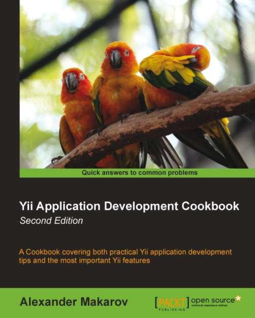 Yii Application Development Cookbook (2nd edition)