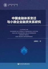 中国金融体系变迁与小微企业融资关系研究