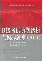 B级考试真题透析与模拟冲刺(2011)(仅适用PC阅读)