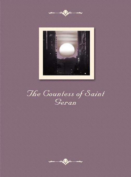 The Countess of Saint Geran