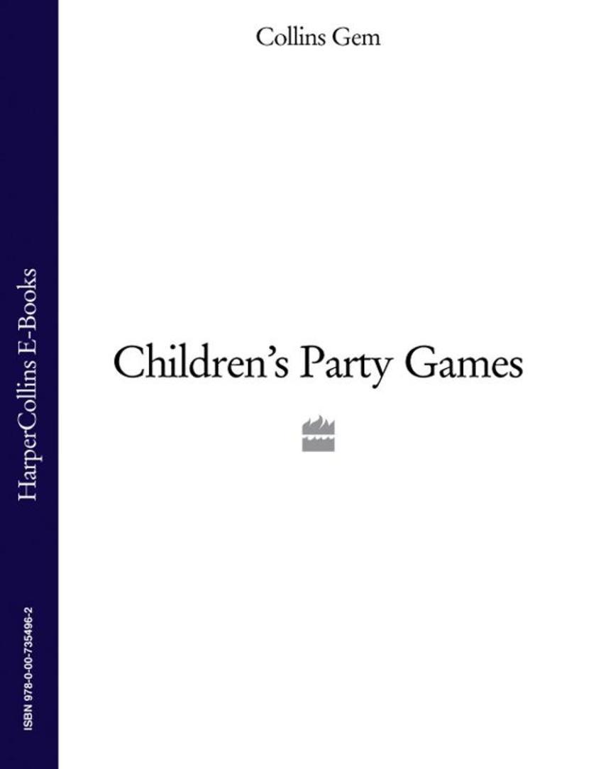 Children's Party Games (Collins Gem)