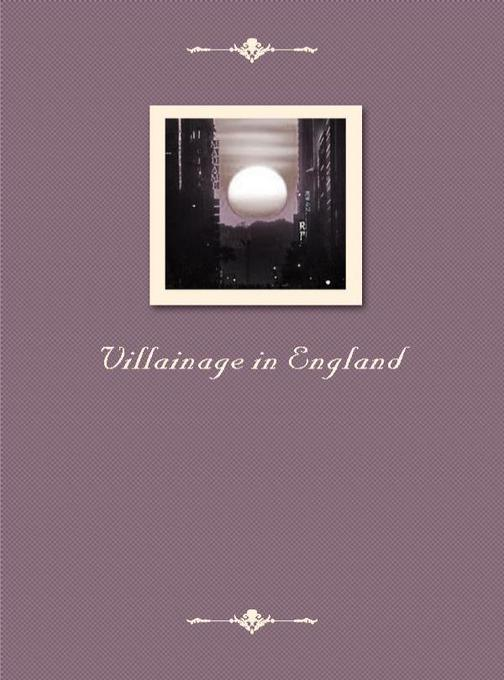 Villainage in England