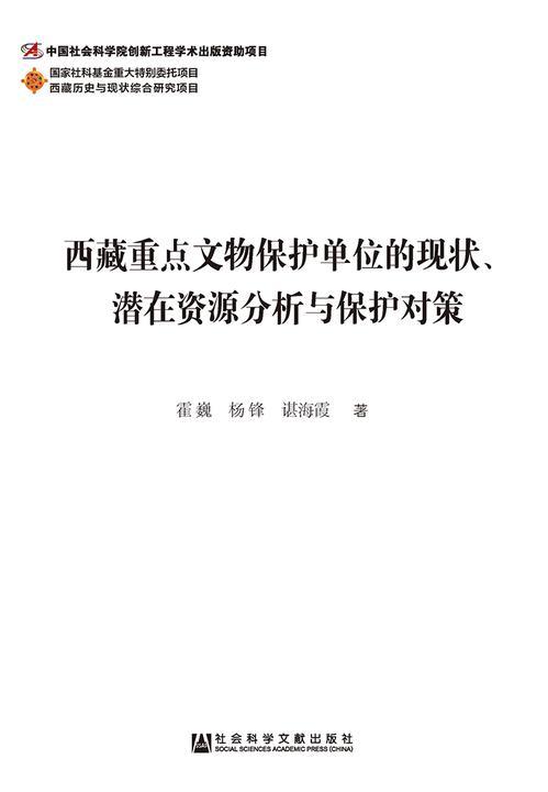 西藏重点文物保护单位的现状、潜在资源分析与保护对策