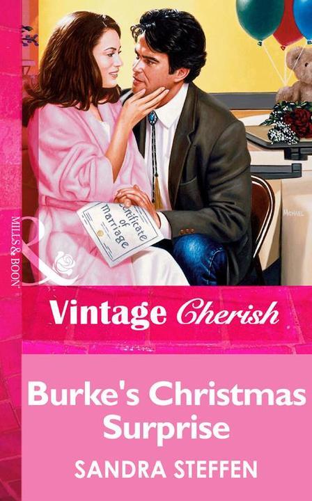 Burke's Christmas Surprise (Mills & Boon Vintage Cherish)
