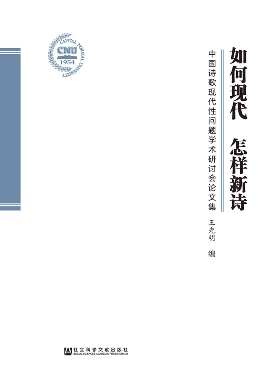 如何现代 怎样新诗:中国诗歌现代性问题学术研讨会论文集
