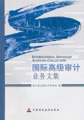 国际高级审计业务文集(仅适用PC阅读)
