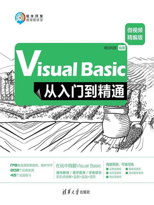 Visual Basic从入门到精通(微视频精编版)