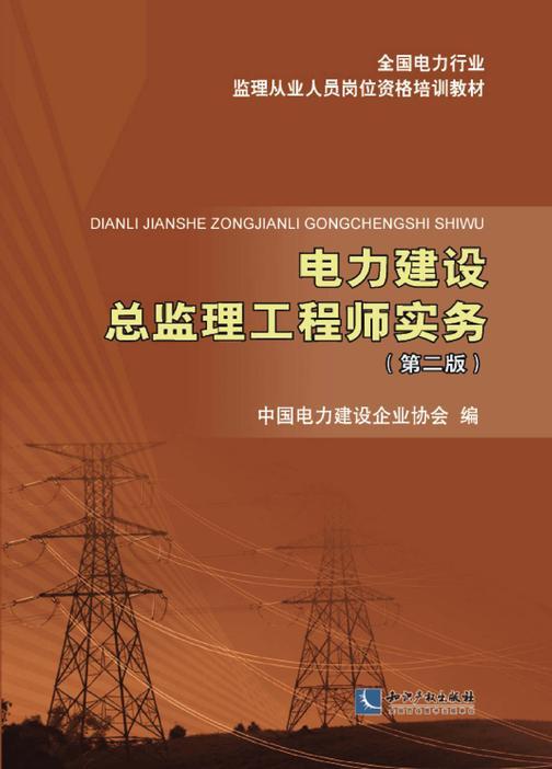电力建设总监理工程师实务(第二版)
