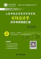 山东科技大学经济管理学院838会计学历年考研真题汇编