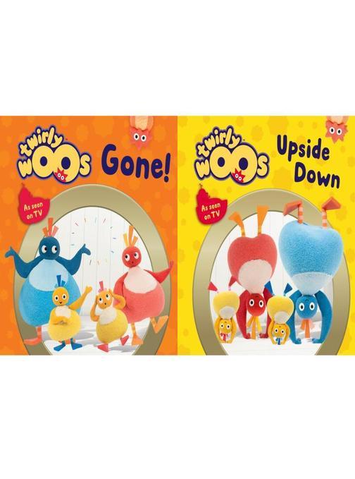 Gone & Upside Down (Twirlywoos)