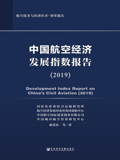 中国航空经济发展指数报告(2019)(航空技术与经济丛书·智库报告)
