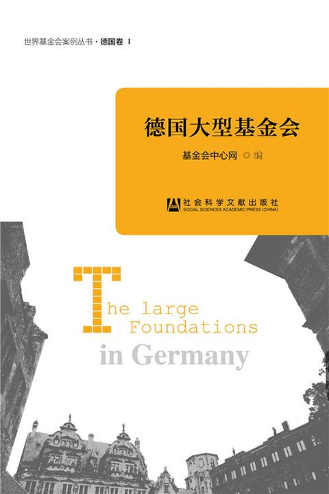 德国大型基金会(世界基金会案例丛书)