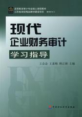 现代企业财务审计学习指导