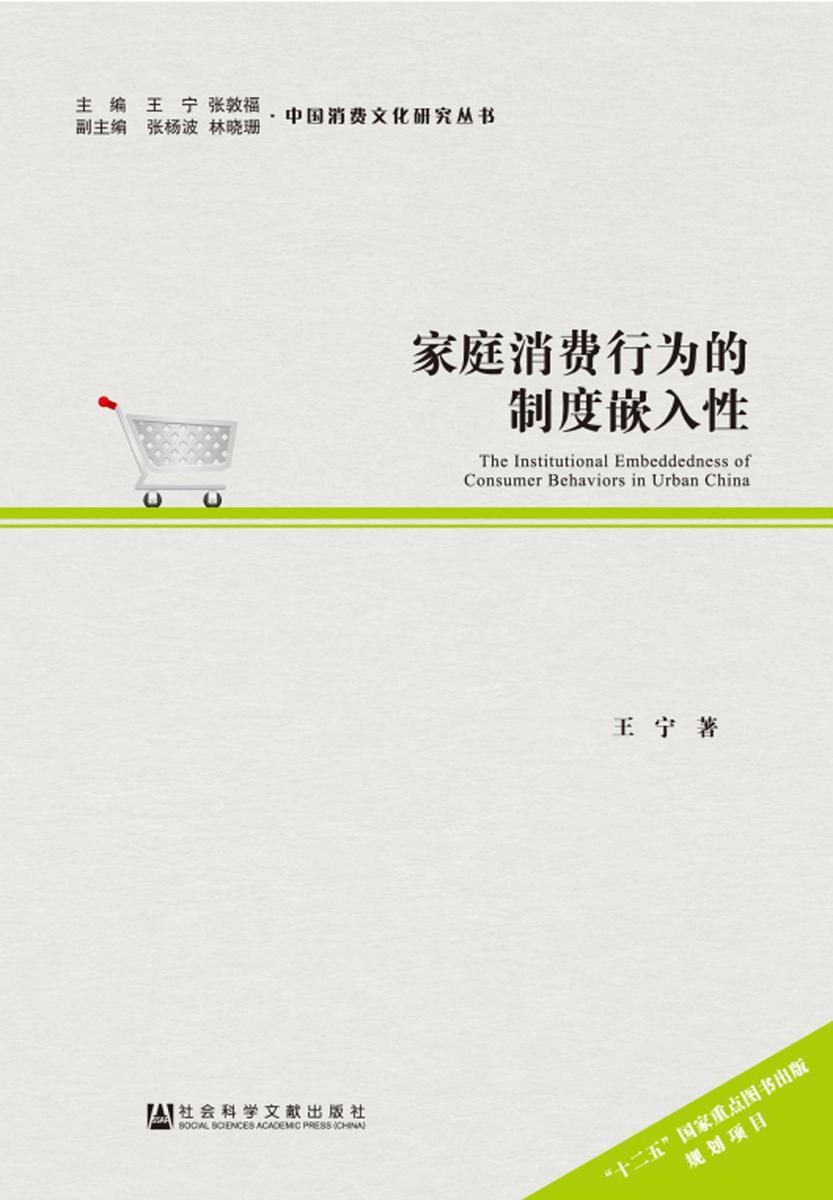 家庭消费行为的制度嵌入性(中国消费文化研究丛书)