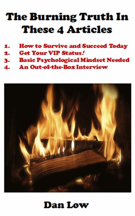 The Burning Truth In These 4 Articles