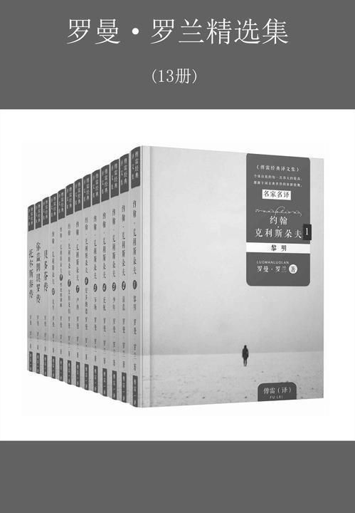 罗曼·罗兰精选集13册(傅雷经典译本,传记文学创始人代表作《约翰·克里斯多夫》《巨人三传》)