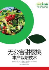 无公害甜樱桃丰产栽培技术