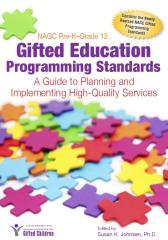NAGC Pre-K?Grade 12 Gifted Education Programming Standards