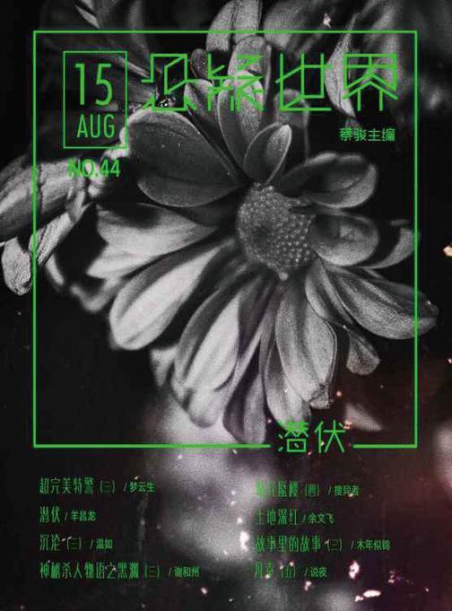 NO.044悬疑世界·潜伏(电子杂志)