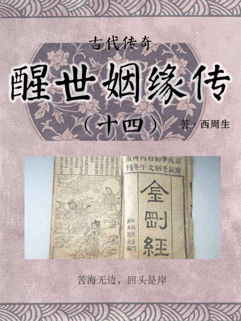 传统古典文学:醒世姻缘传(十四)