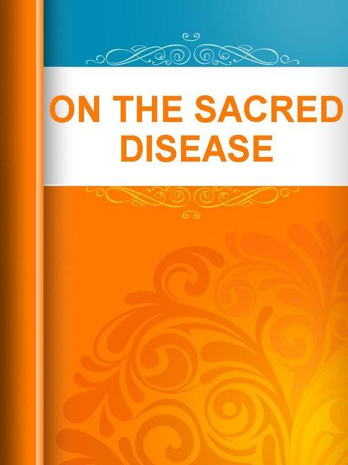 On The Sacred Disease