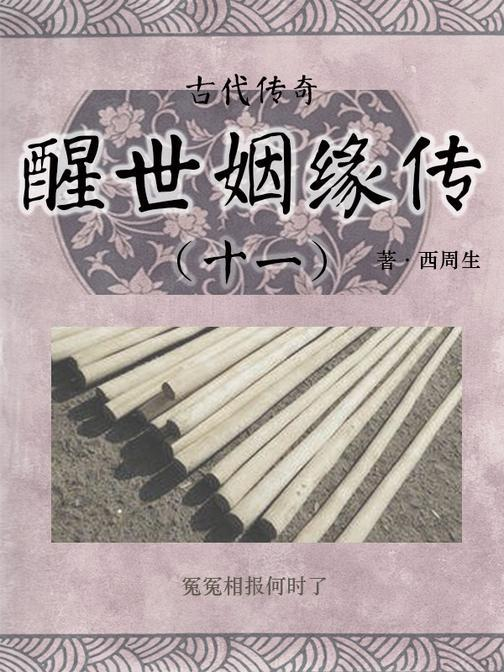 传统古典文学:醒世姻缘传(十一)