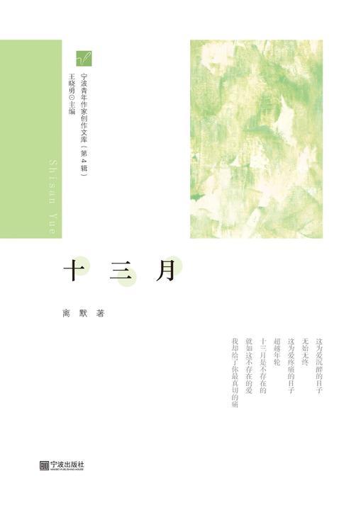 宁波青年作家创作文库(第4辑) 十三月