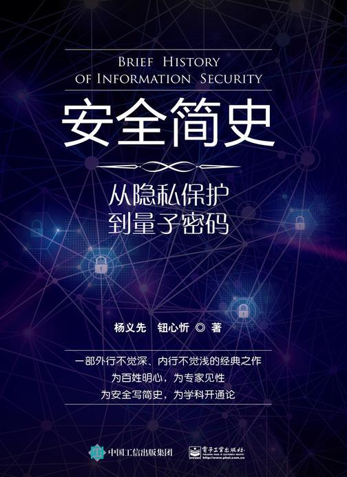 安全简史——从隐私保护到量子密码