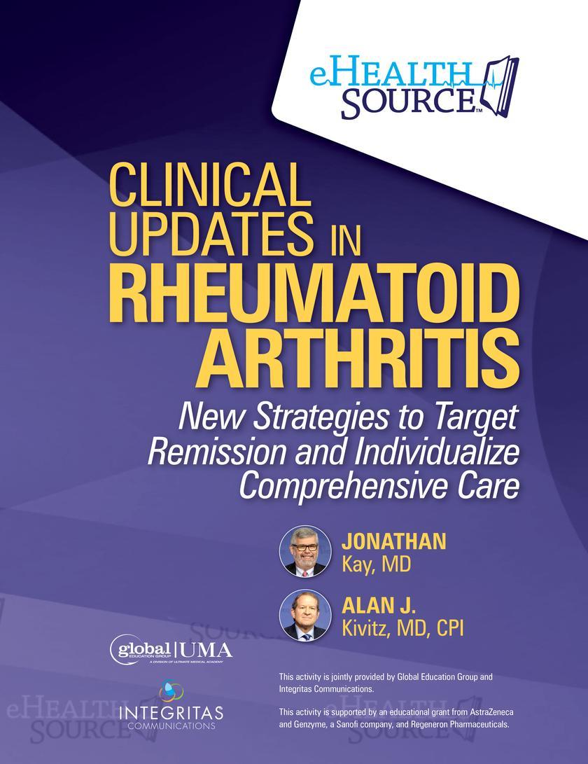Clinical Updates in Rheumatoid Arthritis